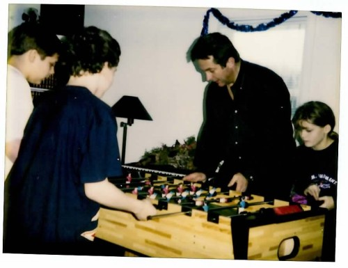 The foosball table was a big hit. So was the billiards table. And the RC cars. And the snowmobiles.